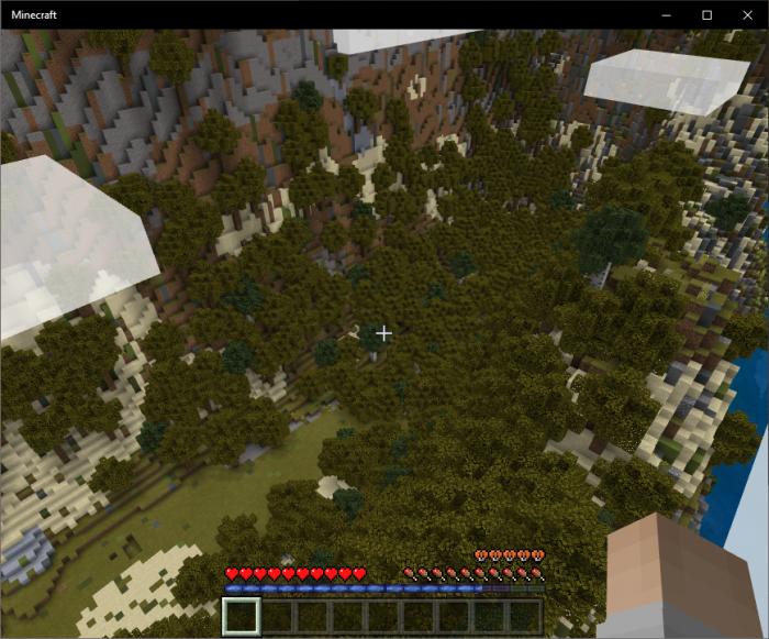 Аддон реактивного ранца (с топливом) для Minecraft PE