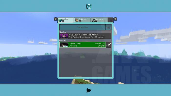 FUTURE 2021 [WIN10] 🤖 Minecraft Texture Pack